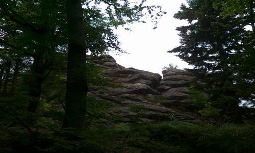 CZECHY / Góry Opawskie / Czarcie Kamienie / Czarcie Kamienie