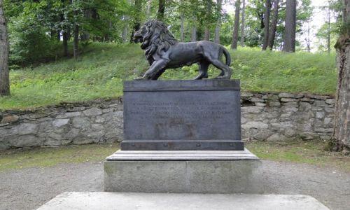 CZECHY / Góry Opawskie / Lazne Jesenik / Węgierski pomnik w Czechach
