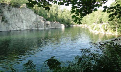 CZECHY / Góry Opawskie / Czarna Woda / Kamieniołom Rampa