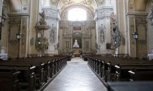 Zdjęcie CZECHY / Morawy Południowe / Valtice / Kościół Farny w Valticach