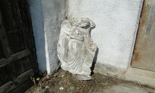 Zdjecie CZECHY / Góry Opawskie  / Supikovice / Upadly anioł...........
