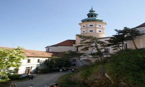 Zdjęcie CZECHY / Morawy Południowe / Mikulov / Wieża pałacowa w Mikulovie