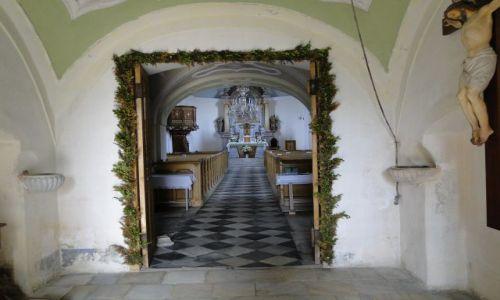 Zdjęcie CZECHY / Góry Opawskie / Lipowa Lazne / Wnętrze kościoła w Lipowa lazne