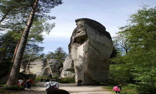 Zdjęcie CZECHY / Sudety / Adrszpaskie skały / Głowa Cukru