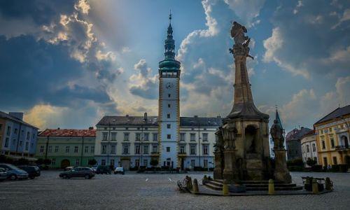 Zdjecie CZECHY / Olomouc region / Litovel / Litovel - rynek