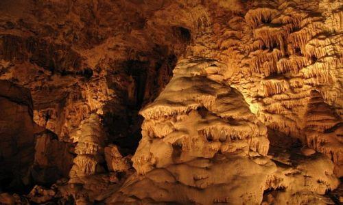 Zdjęcie CZECHY / Morawy Środkowe / okolice Ołomuńca / jaskinie Jaworzyckie