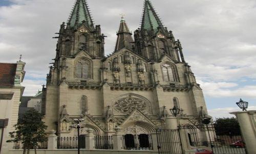 Zdjęcie CZECHY / Morawy Środkowe / Ołomuniec / katedra Św. Wacława
