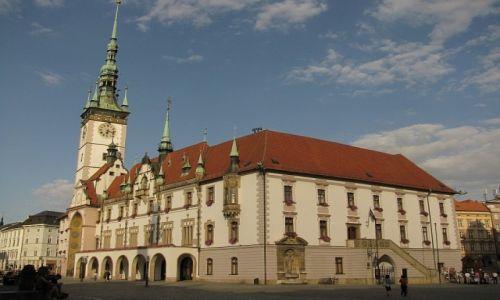 Zdjęcie CZECHY / Morawy Środkowe / Ołomuniec / ratusz