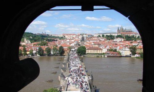 Zdjecie CZECHY / Praga / Praga / Karlov Most