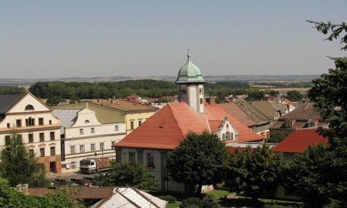 Zdjęcie CZECHY / północne Czechy / Javornik / panorama miasta