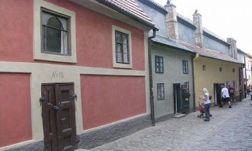 Zdjecie CZECHY / Praga / Praga / Złota Uliczka