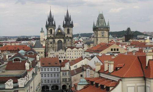 Zdjecie CZECHY / Praga / Praga / widok z Klementinum
