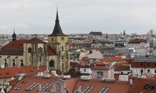 Zdjęcie CZECHY / Praga / Praga / widok z Klementinum
