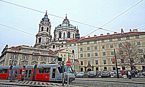 Zdjecie CZECHY / Praga / dzielnica Mala Strana / Każde zdjęcie można poprawić (2)
