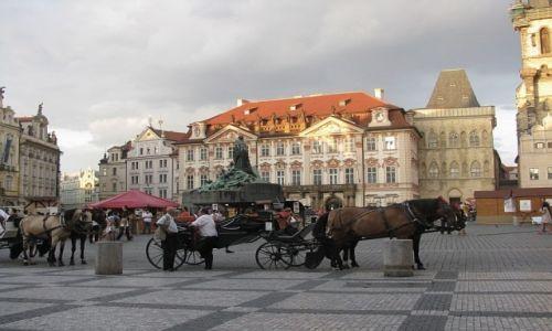 Zdjecie CZECHY / Praga / Praga / rynek Staromiejski.