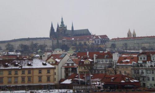 Zdjecie CZECHY / Praha I / Praga, Most Karola / Widok na Hradczany