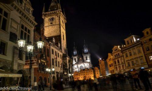 CZECHY / Praga / Stare Miasto / Praga nocą