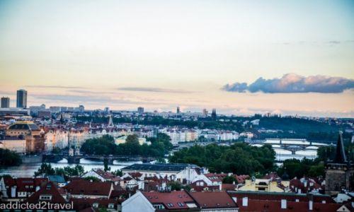 CZECHY / Praga / Praga / Panorama Pragi