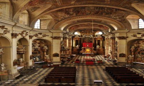 Zdjęcie CZECHY / Brno / Brno / Brno, kościół Minoritov