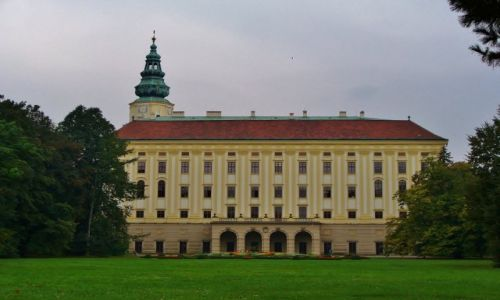 Zdjęcie CZECHY / Morawy / Kromeriz / Kromeriz, pałac arcybiskupi