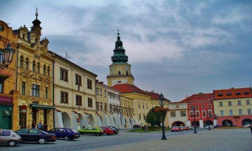 Zdjęcie CZECHY / Morawy / Kromeriz / Kromeriz, barokowe miasto