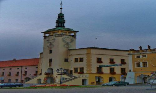 Zdjęcie CZECHY / Morawy / Kromeriz / Kromeriz, ratusz