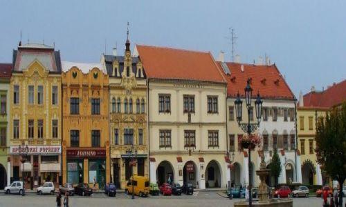 Zdjęcie CZECHY / Morawy / Kromeriz / Kromeriz, rynek