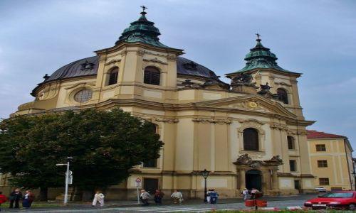 Zdjęcie CZECHY / Morawy / Kromeriz / Kromeriz, jeden z kościołów