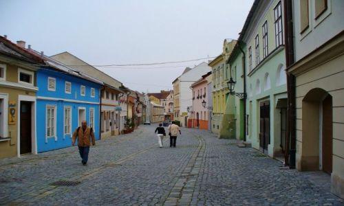 Zdjęcie CZECHY / Morawy / Kromeriz / Kromeriz, uliczka