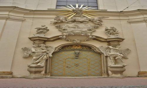 Zdjęcie CZECHY / Morawy / Brno / Brno, portal przy kaplicy loretańskiej