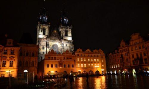 Zdjecie CZECHY / - / Praga / Praga nocą