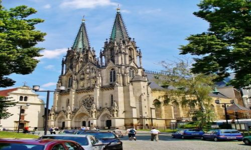 Zdjęcie CZECHY / Wschód / Olomouc / Olomouc, Katedra