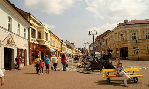 Zdjęcie CZECHY / Czeski Raj / Jiczyn / centrum miasta