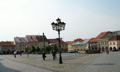 Zdjęcie CZECHY / Czeski Raj / Jiczyn / stary rynek