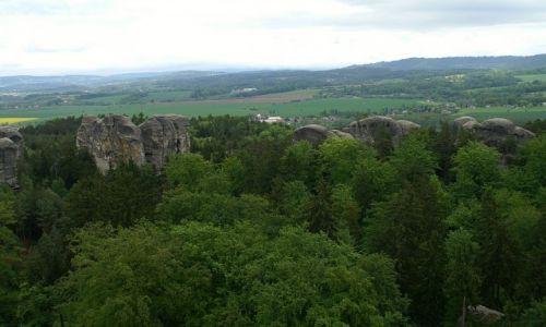 Zdjęcie CZECHY / Czeski Raj / Czeski Raj / widok z baszty zamku
