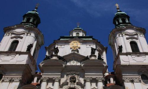 Zdjecie CZECHY / Praga / Plac Staromiejski / Kościół św. Mikołaja