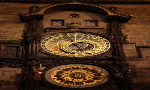 CZECHY / Praga / Ratusz Staromiejski / Praski Orloj, czyli zegar ratuszowy