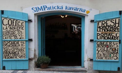 CZECHY / Praga / Malá Strana / Bardzo sympatyczna kawiarnia