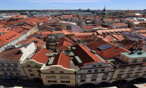 Zdjęcie CZECHY / Praga / Stare Miasto / Kamieniczki