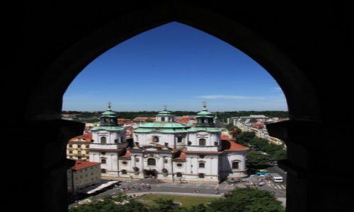 CZECHY / Praga / Ratusz Staromiejski / Kościół św. Mikołaja