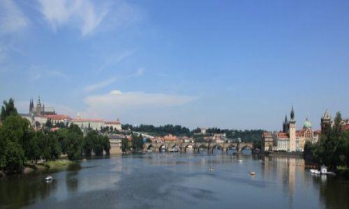 Zdjęcie CZECHY / Praga /  Most Legii / Most Karola