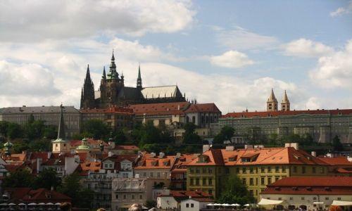 Zdjecie CZECHY / Praga / Praga / widok na Hradczany