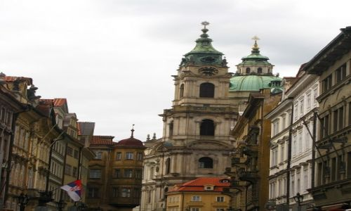 Zdjęcie CZECHY / Praga / Praga / kościół św. Mikołaja