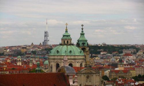 CZECHY / Praga / Praga / panorama Pragi z Hradczan