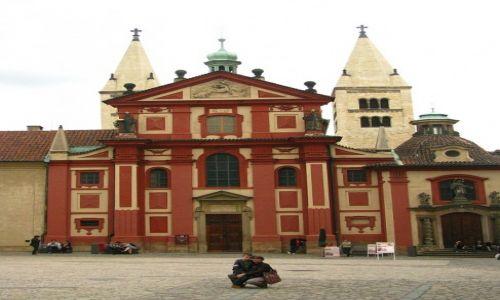 Zdjecie CZECHY / Praga / Praga / Hradczany - bazylika św. Jerzego