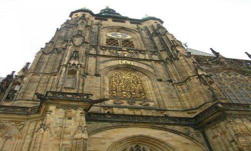 Zdjęcie CZECHY / Praga / Praga / Hradczany - katedra św. Vita