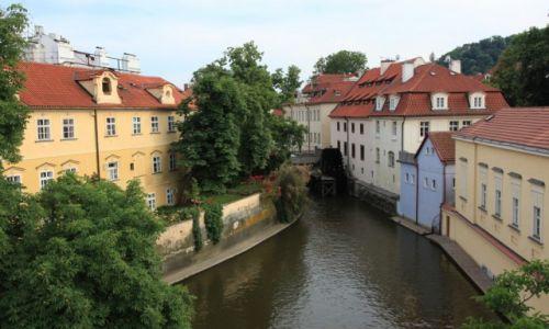 Zdjęcie CZECHY / Praga / Malá Strana / Stare młyny