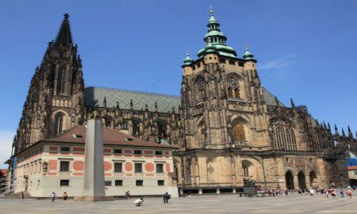 Zdjęcie CZECHY / Praga / Hradczany / Katedra św. Wita