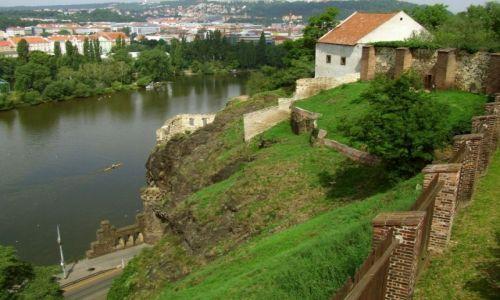 Zdjecie CZECHY / Praga / Vyszehrad / Ruiny Łaźni Libuszy