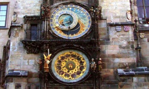 Zdjęcie CZECHY / Praga / Praga / Zegar astronomiczny Orloj